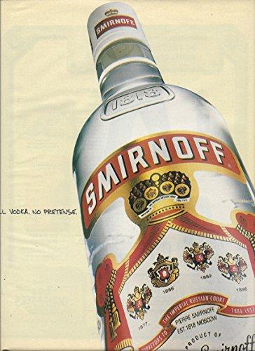 print-ad-for-smirnoff-vodka-1998-all-vodka-no-pretense