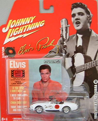Johnny Lightning - Elvis Presley 1965 Shelby Cobra 427 - 1