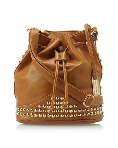 Urban Originals Women's Willow Drawstring Bag, Tan