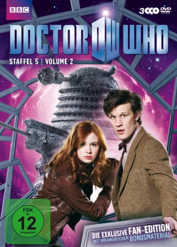 Doctor Who - Staffel 5, Volume 2 (Fan-Edition, 3 Discs)