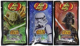 Jelly Belly Star Wars Galaxy Mix Sparkling Jelly Beans Mix - 1 oz Bag (8 Bags)
