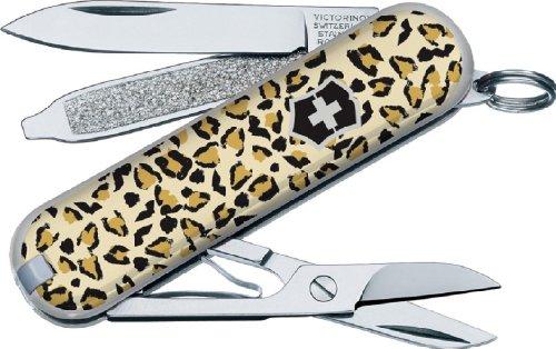 Victorinox Classic Swiss Army Knife-Sd Leopard