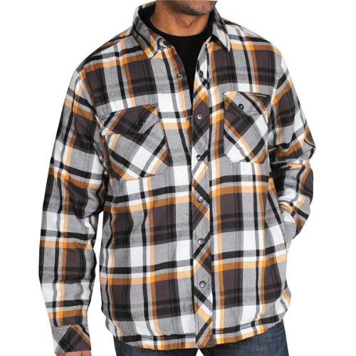 Exofficio Men'S Pocatello Plaid Jack Shirt, Black Plaid, Large