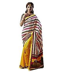 Monash Creations Triangle Treat Bhagalpuri Silk saree