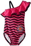 Hartstrings Baby-Girls Infant Chevron 1 Piece Bathing Suit