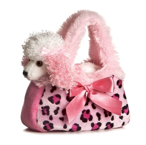 Aurora Fancy Pal Pretty Poodle Pink Pet Purse - 1
