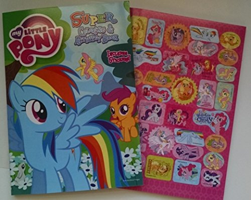 My Little Pony Rainbow Dash Super Coloring & Activity Book with Stickers