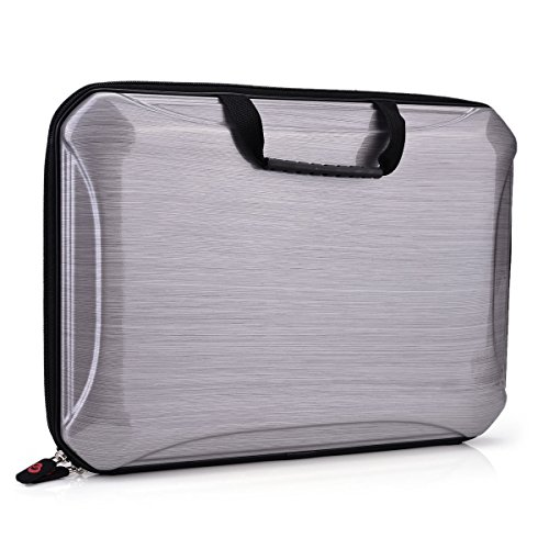 12 13 Inch Laptop/Tablet Cases With Handle Fits Acer Asus Apple Macbook Dell Lenovo Hp Samsung Sony Toshiba Chromebook (Gray)