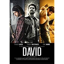 David  (Hindi Movie / Bollywood Film / Indian Cinema DVD)