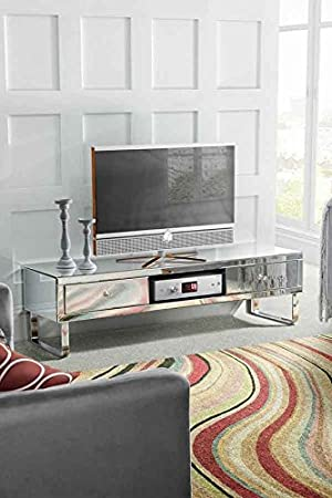 MY-Furniture - Mueble de TV con espejo - Gama CHELSEA