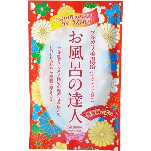 お風呂の達人 バラ園の香り 35g