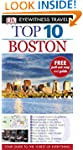 DK Eyewitness Top 10 Travel Guide Boston