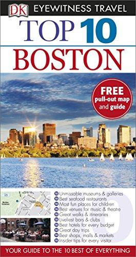 DK Eyewitness Top 10 Travel Guide. Boston