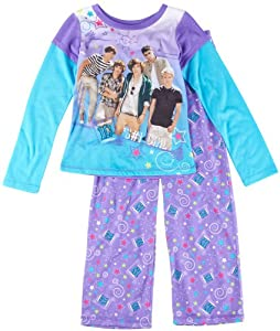 One Direction 4?14 2?pc. Purple Pajama Set from 1 Direction