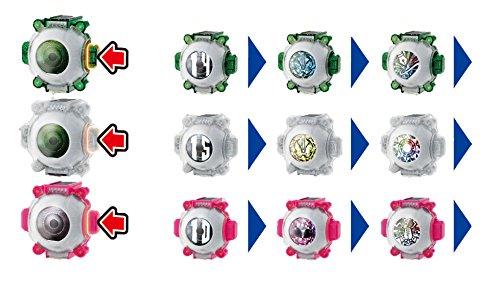 仮面ライダーゴースト DXグリム&サンゾウ&ヒミコ ゴーストアイコンセット