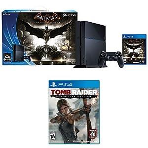 500GB PlayStation 4 Batman Arkham Knight Bundle + Tomb Raider: Definitive Edition