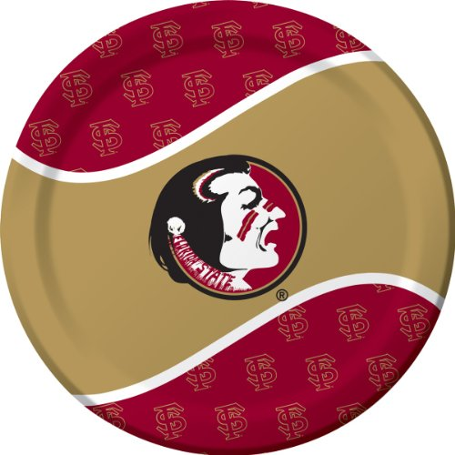 Creative Converting Florida State Seminoles Dinner Paper Plates (8 Count)
