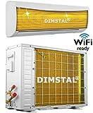 A++/A+ Golden-Fin WiFi-Ready 12000 btu 3,5kW Split Klimaanlage INVERTER Klimagerät und Heizung