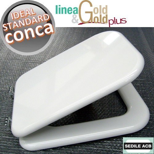 Asse sedile per wc conca ideal standard marca acb linea gold for Conca ideal standard