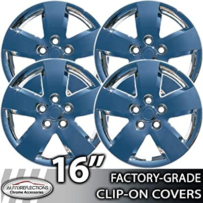 """2007-2011 Nissan Altima Chrome Wheel Covers 16 inch """"Bolt-on"""""""