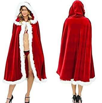 Hot Sexy Halloween Christmas Christmas Party Costumes Little Red Riding Hood cloak