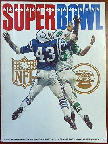 Vince Lombardi Autographed/Hand Signed 1969 Super Bowl Program PSA/DNA #AB04669 (1969 Super Bowl Program compare prices)