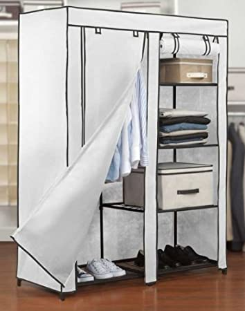 Free Standing Closet Armoire