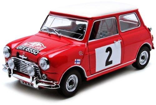 KYOSHO 1/18 Morris Mini Cooper 1275S Rally 1966 Monte Carlo No2