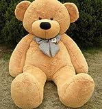 Giant Large Orange Teddy Bear Soft Toy 100 CM