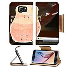 buy Msd Samsung Galaxy S6 Flip Pu Leather Wallet Case Restore An Old Vintage Wooden Skateboard At Home Image 22071933