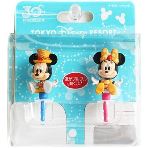 [도쿄 디즈니 리조트30주년 기념]미키마우스&미니 마우스 이어폰 잭 커버 세트 더・ 하피네스 ・이어 Disney-
