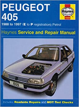 peugeot 405 petrol service and repair manual 1988 1997 e to p registation haynes service and. Black Bedroom Furniture Sets. Home Design Ideas