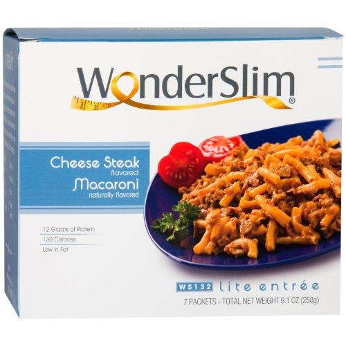 WonderSlim Cheese Steak Macaroni Diet/Weight Loss Meal (7 Servings/Box) (Diet Food compare prices)