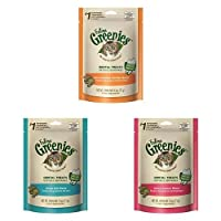 Feline Greenies Dental Cat Treat Variety 6 Pack