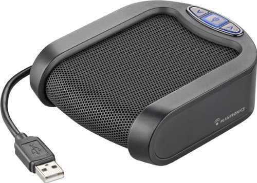 Plantronics Calisto P420 Usb Speakerphone - Black/Silver