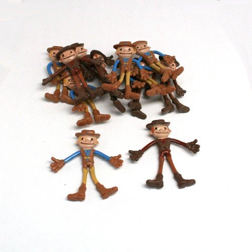 Bendable Cowboys - 12 pack