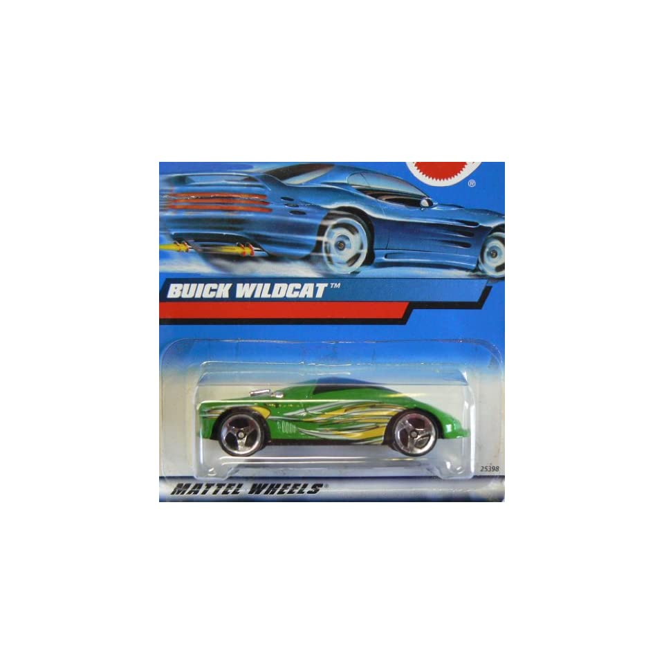 #2000 183 Buick Wildcat Collectible Collector Car Mattel Hot Wheels 164 Scale