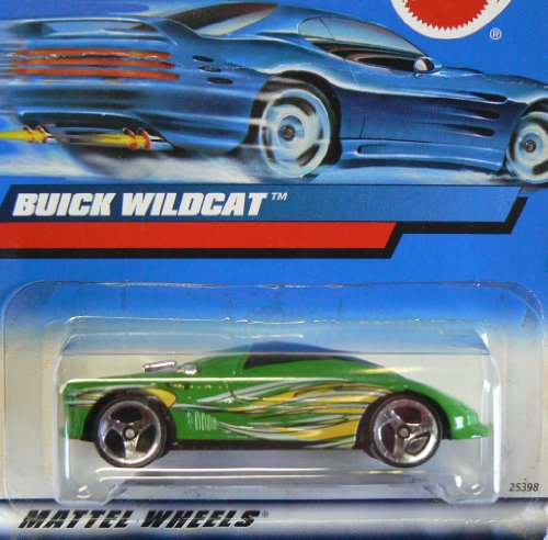 #2000-183 Buick Wildcat Collectible Collector Car Mattel Hot Wheels 1:64 Scale