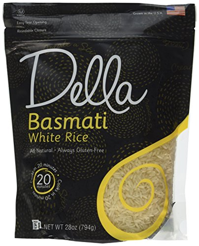 Della Basmati White Rice, 28oz (Pack of 6) (Della Rice compare prices)