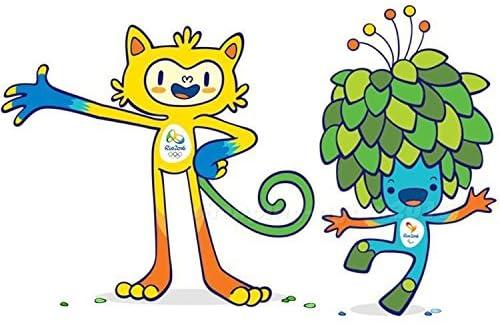 リオデジャネイロ・オリンピック マスコット2体SET 2016 Brazil Rio de Janeiro Olympic & Paralympic Plush Mascot Vinicius & Tom