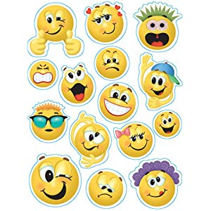 Emoticons Window Clings; 12 x 17; no. EU-836033