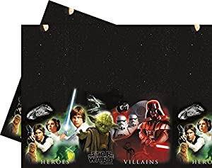 Star Wars Heroes and VillainsPlastic Tablecover