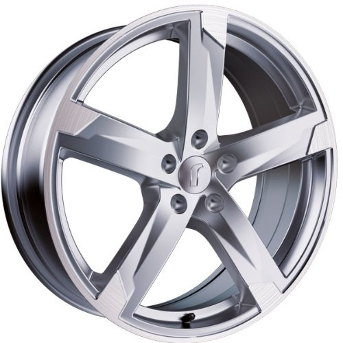 1 x Rondell Z Design 01RZ in 8,0 x 18 ET 45 LZ/LK 5 x 114,3 Farbe Silber matt, poliert für Hyundai ix35 Typ EL, ELH, LM
