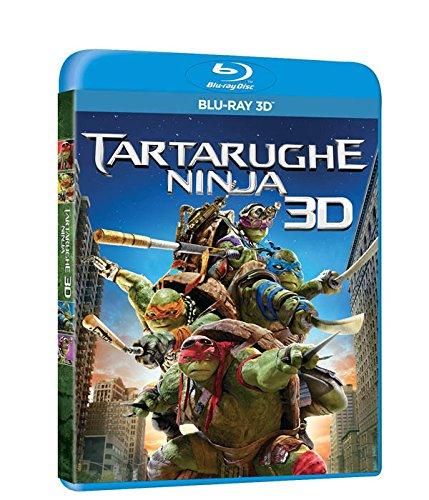 Tartarughe ninja(2D+3D) [3D Blu-ray] [IT Import]