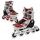 Dongchuan Adjustable Kids Inline Skates Wearable PU Wheel Small Rollerblades Roller Skates Perfect For Beginner