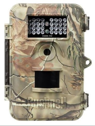 Bushnell 8 Megapixel Trophy Cam Night Vision Field Scan Trail Camera - Bone Collector 119446C