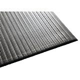 Guardian Air Step  Anti-Fatigue Floor Mat, Vinyl, 3'x5', Black