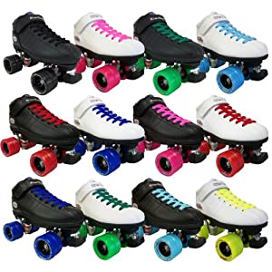 Riedell R3 Demon Quad Roller Derby Speed Skates by Riedell