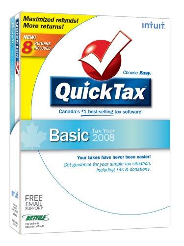 QuickTax Basic 2008 [OLD VERSION]