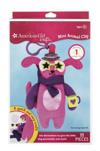 American Girl Crafts Mini Animal Clip, Dog - 1
